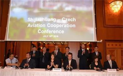 China VAST Development Signed Project Cooperation Agreements with Three local Companies in Prague, Czech Republic.